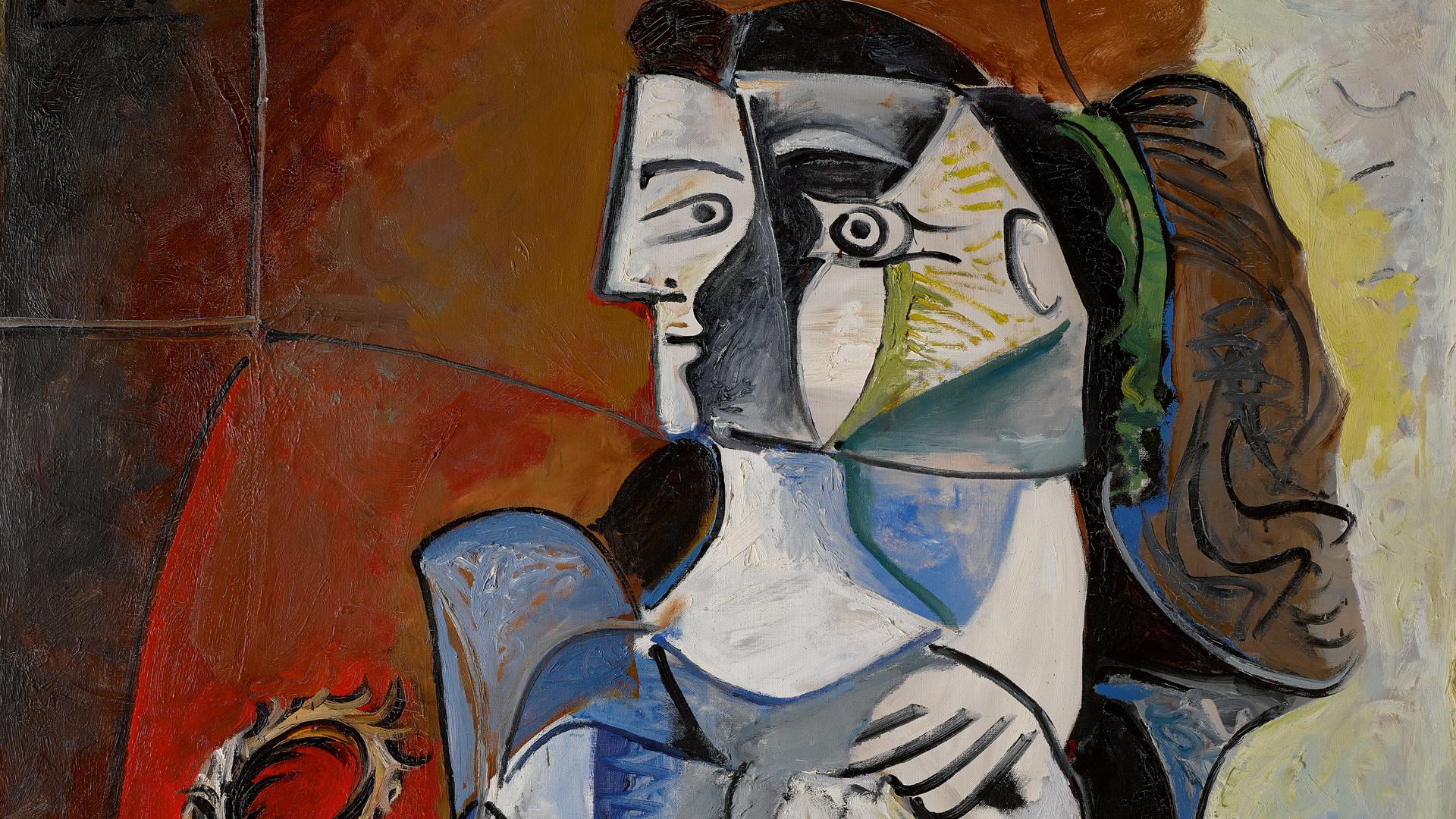 Picassos idealized portrait of his final muse expert voices sothebys