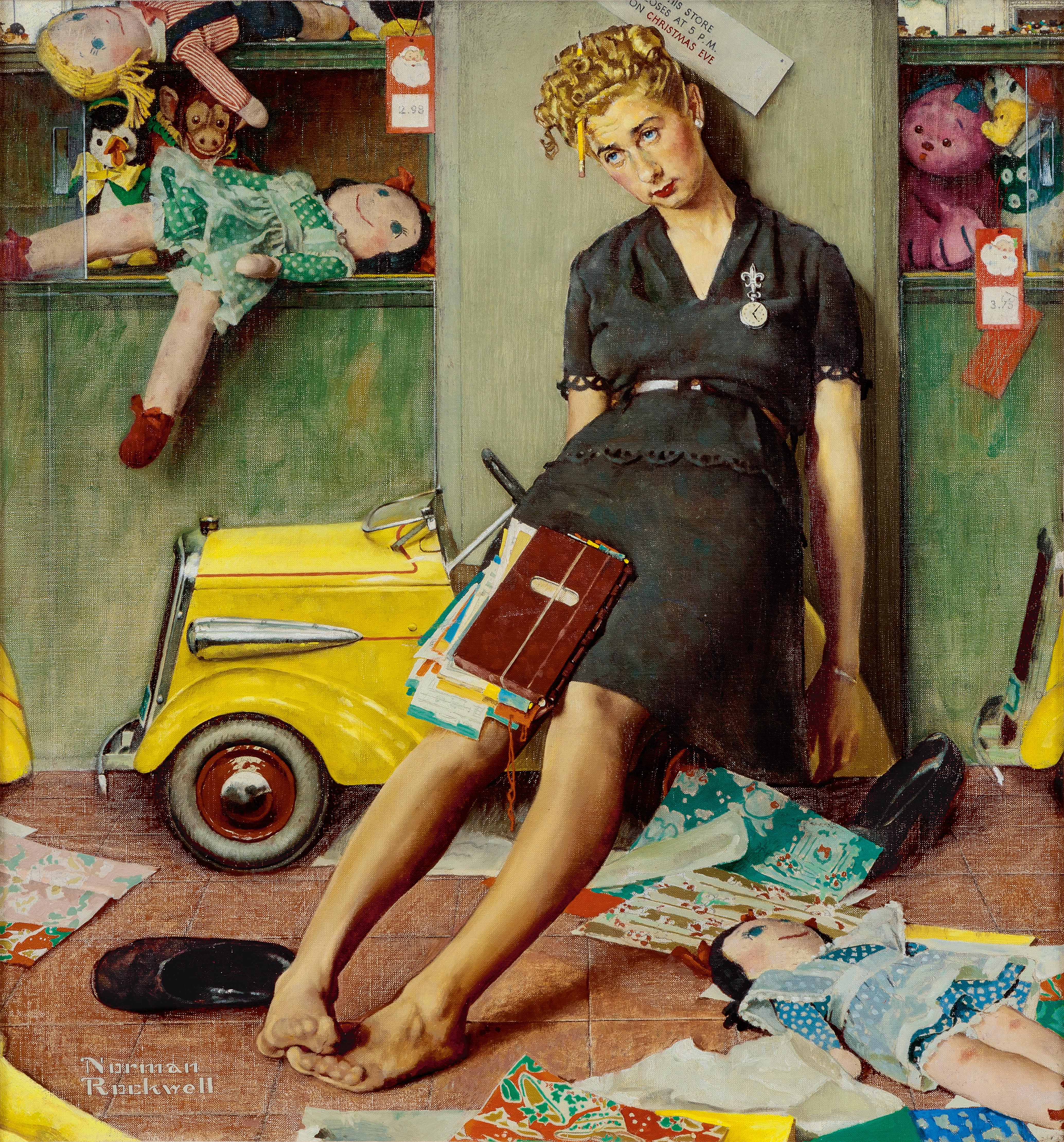Norman Rockwell & the Modern American Christmas | American Art ...
