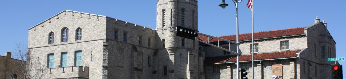 Exterior view of The History Museum at the Castle