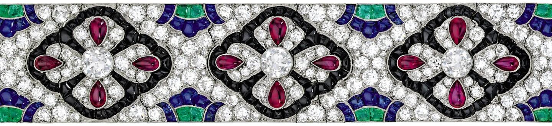 Van Cleef & Arpels bracelet in an auction selling Van Cleef & Arpels jewelry