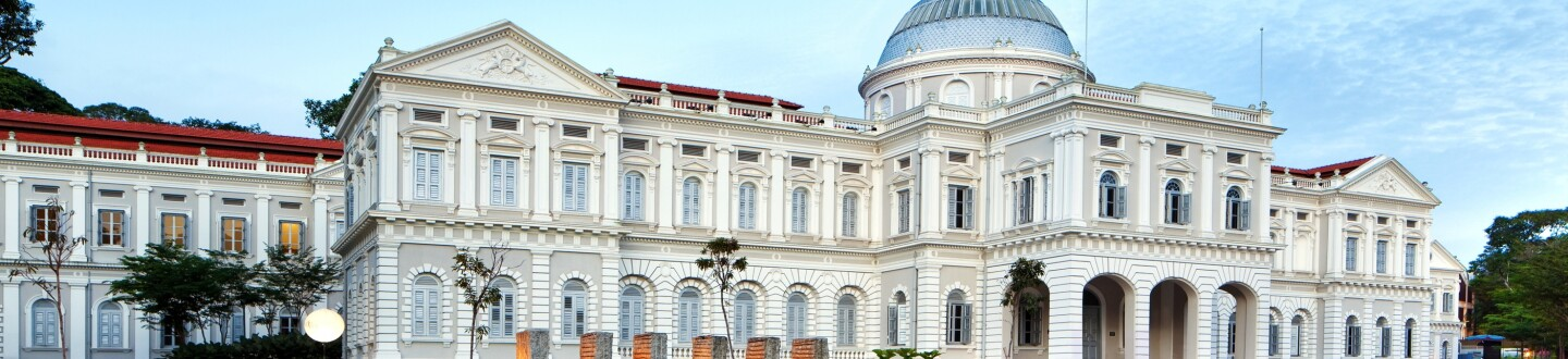 Exterior View, National Museum of Singapore