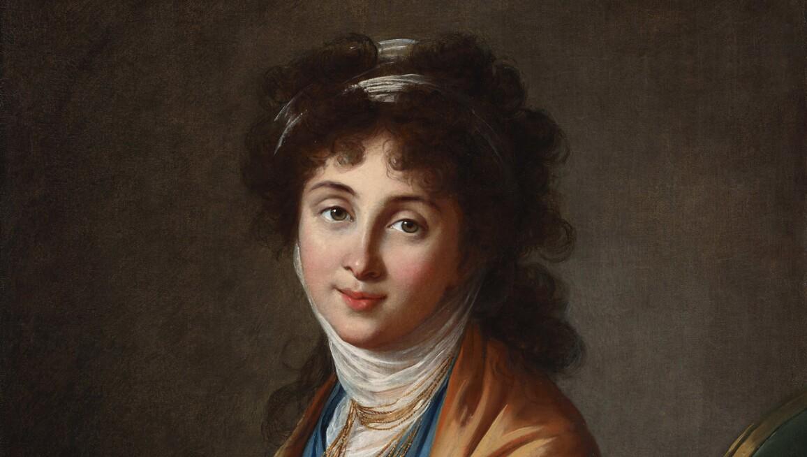 Elisabeth Louise Vigée-Lebrun, Portrait of Natalia Zakharovna Kolycheva, née Hitrovo, 1799