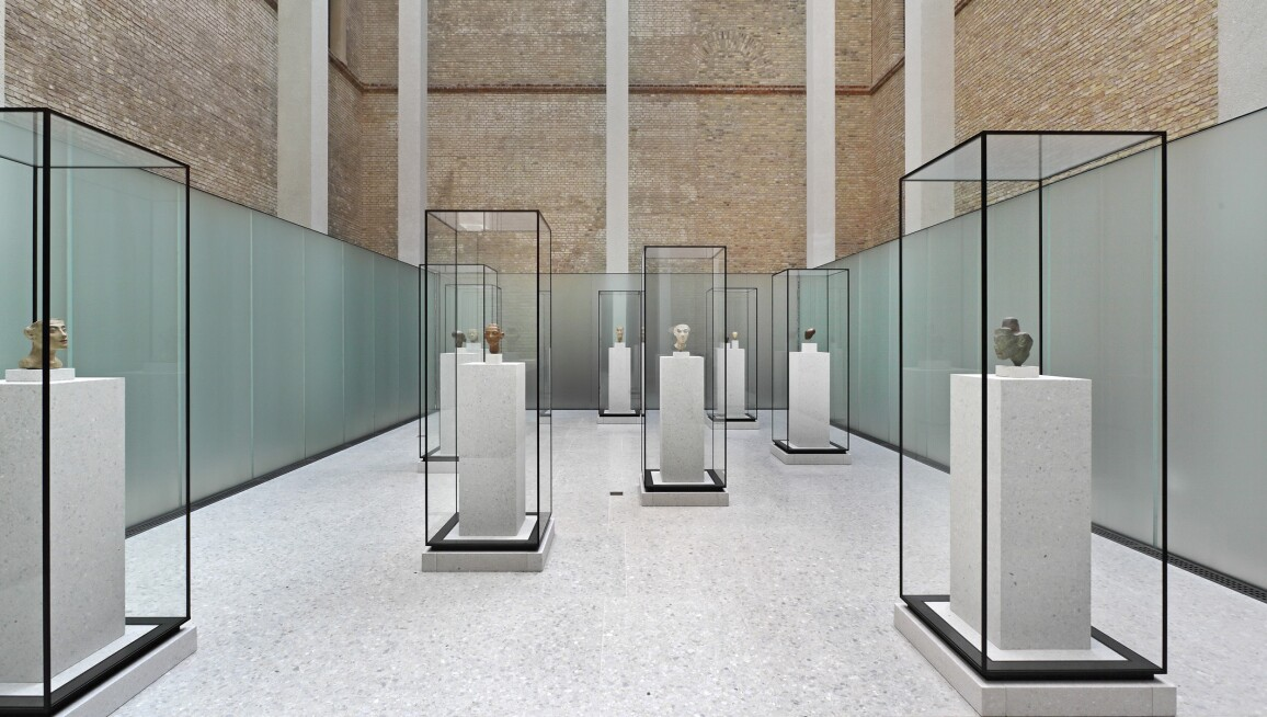 Interior View, Neues Museum