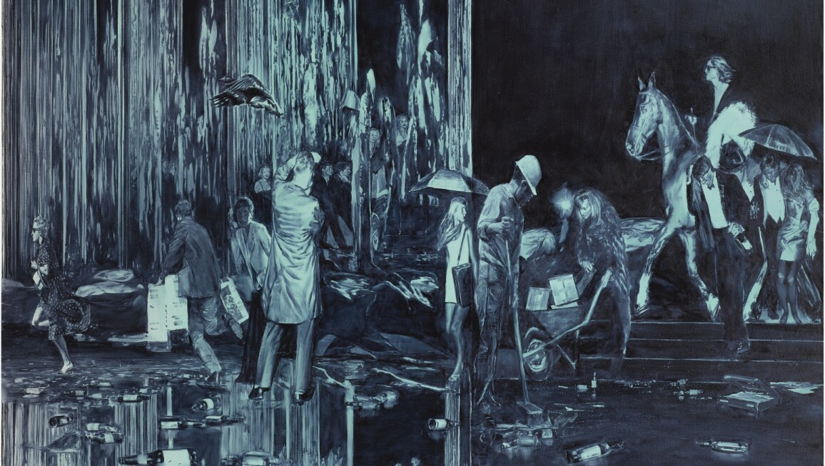 Mark Tansey, Transition Team