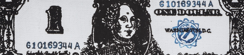 Andy Warhol, Printed Dollar #6, 1962.jpg