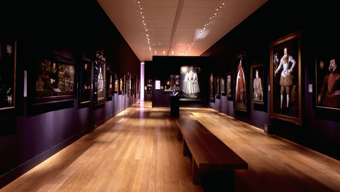 Interior View, National Portrait Gallery