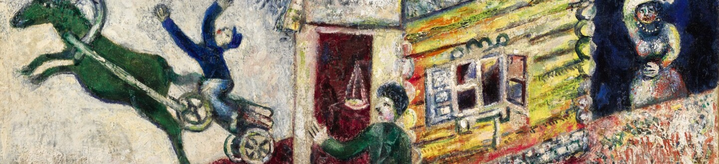 Chagall in an auction selling fine art