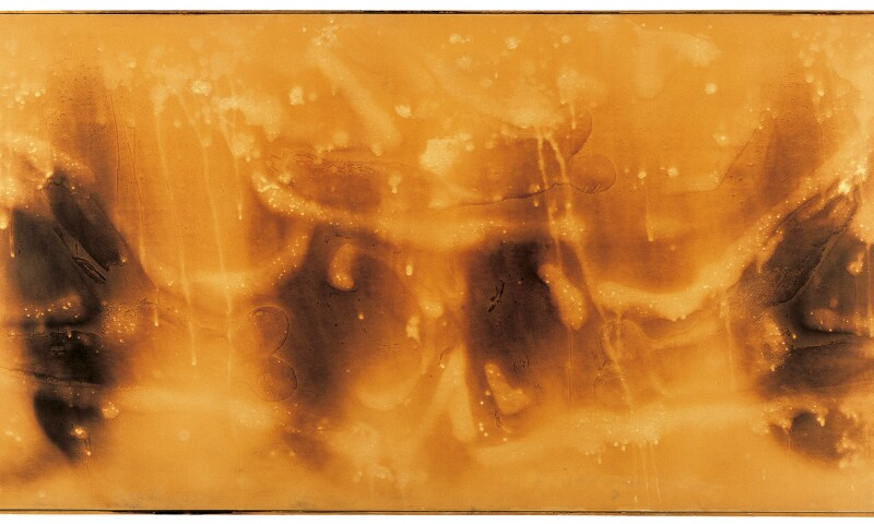 Yves Klein, Untitled Fire Painting (F 82)