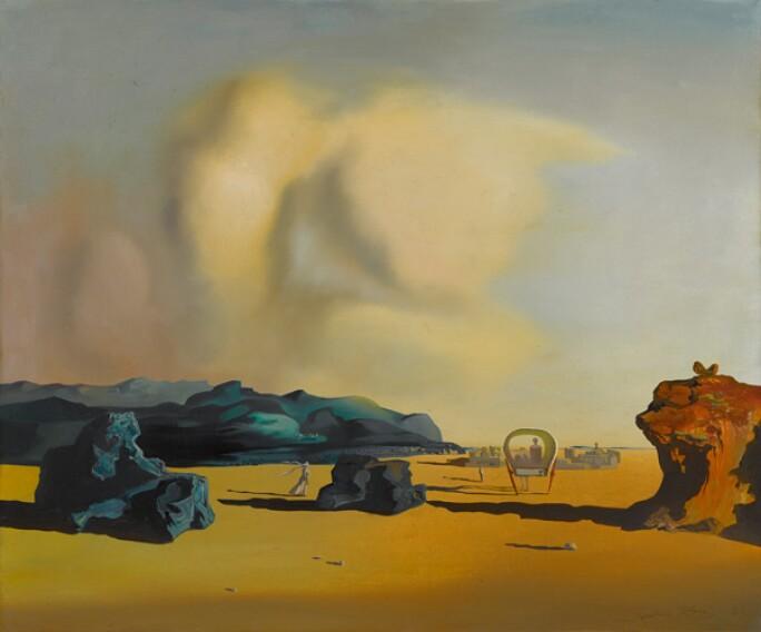 Salvador Dal Moments Of Transition Impressionist Modern Art