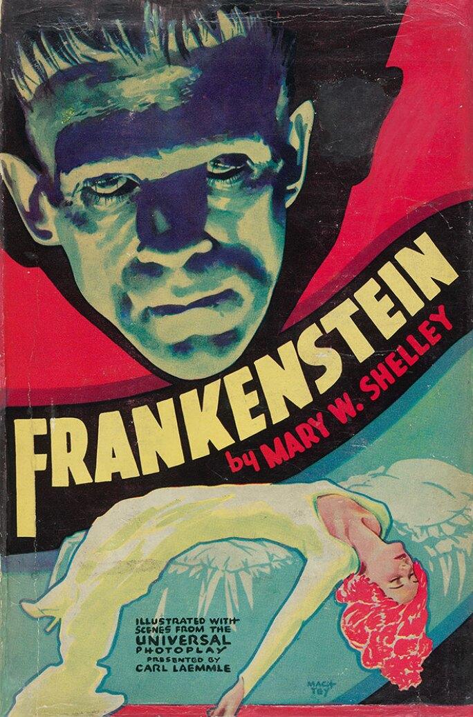 Mary Wollstonecraft Shelley (1797–1851), Frankenstein, or, the Modern Prometheus, New York: Grosset and Dunlap, 1931.