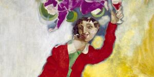 Marc Chagall's 'Double Portrait with Wine Glass', A Revolutionary Wedding Portrait