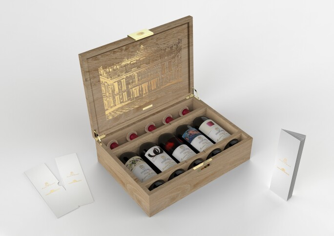 3-D Drawing of Versailles Celebration Case, Courtesy Château Mouton Rothschild.jpg