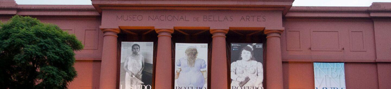 Exterior View, Museo Nacional de Bellas Artes