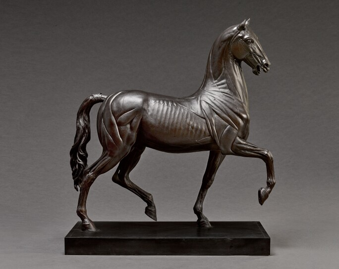 After a model from the Circle of Giambologna (1529-1608), The Torrie Horse. Estimate £40,000-60,000.