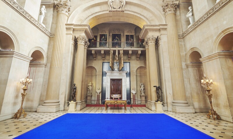 Installation View, Yves Klein at Blenheim Palace