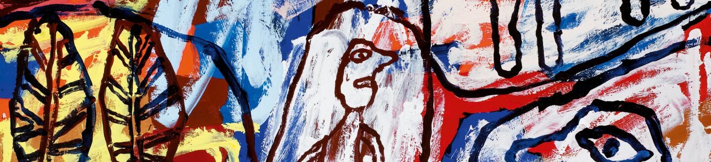 Jean Dubuffet, Vont Et Viennent