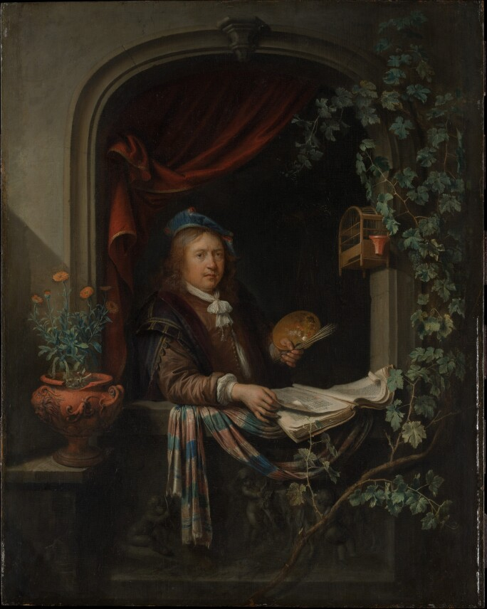 Gerrit Dou, Self-Portrait, ca 1665 (3).jpg