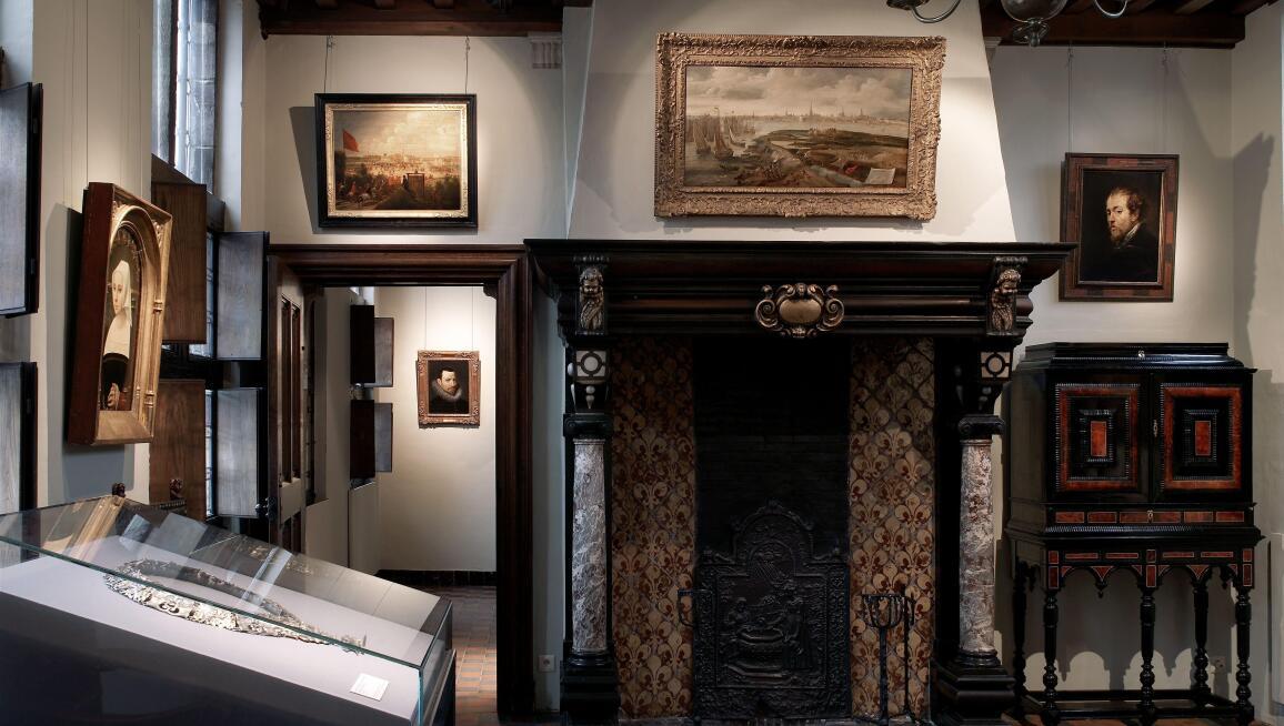 Interior View, Rubenshuis