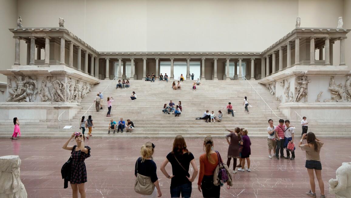 Interior View, Pergamonmuseum