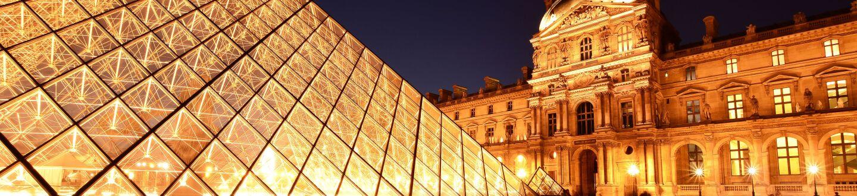 Exterior View, Musée Du Louvre