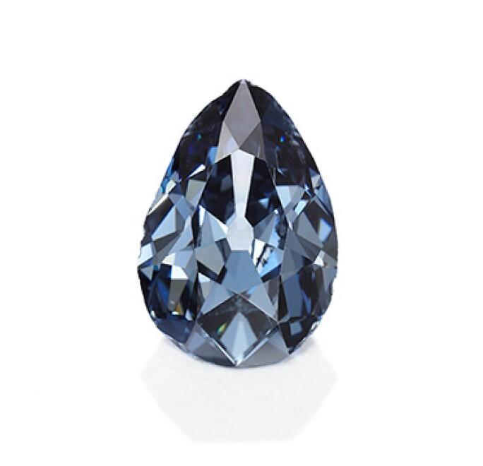 Unique Cobalt Blue Stone