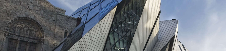 Exterior View, Royal Ontario Museum