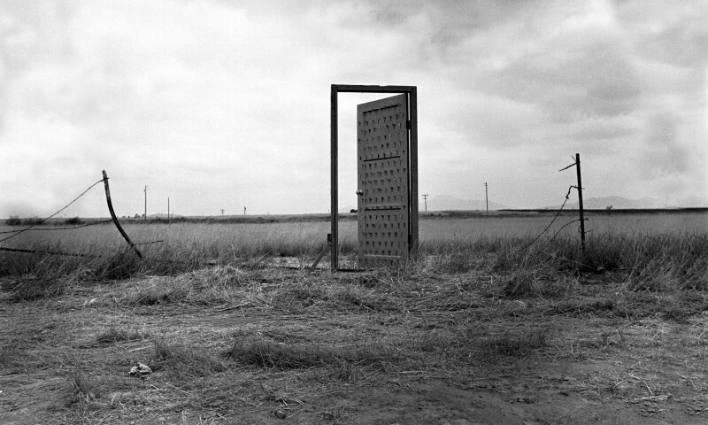 Richard A. Lou / Border Door / 1998