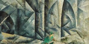 The Little Gothic Bridge that Inspired Feininger's Cubist Masterpiece
