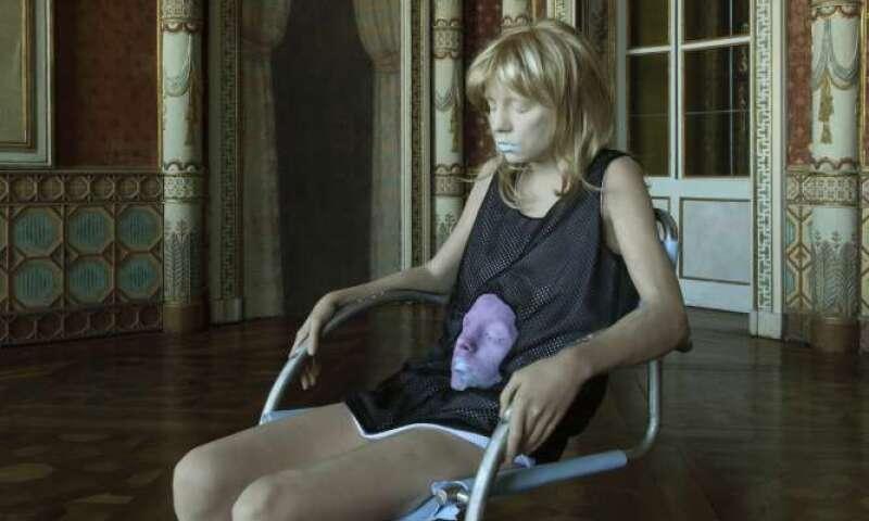 Andro Wekua, 'A Neon Shadow,' Castello Di Rivoli, 2011