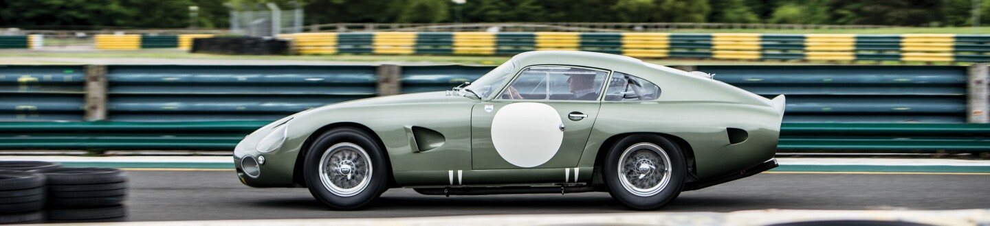 The 1963 Aston Martin DP215 Grand Touring Competition Prototype