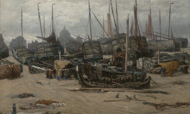 H.W. Mesdag - Na de storm van 1894, 1896.jpg