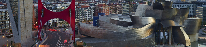 Exterior View, Guggenheim Museum Bilbao