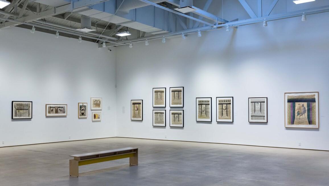 Interior view, Institute of Contemporary Art, Los Angeles
