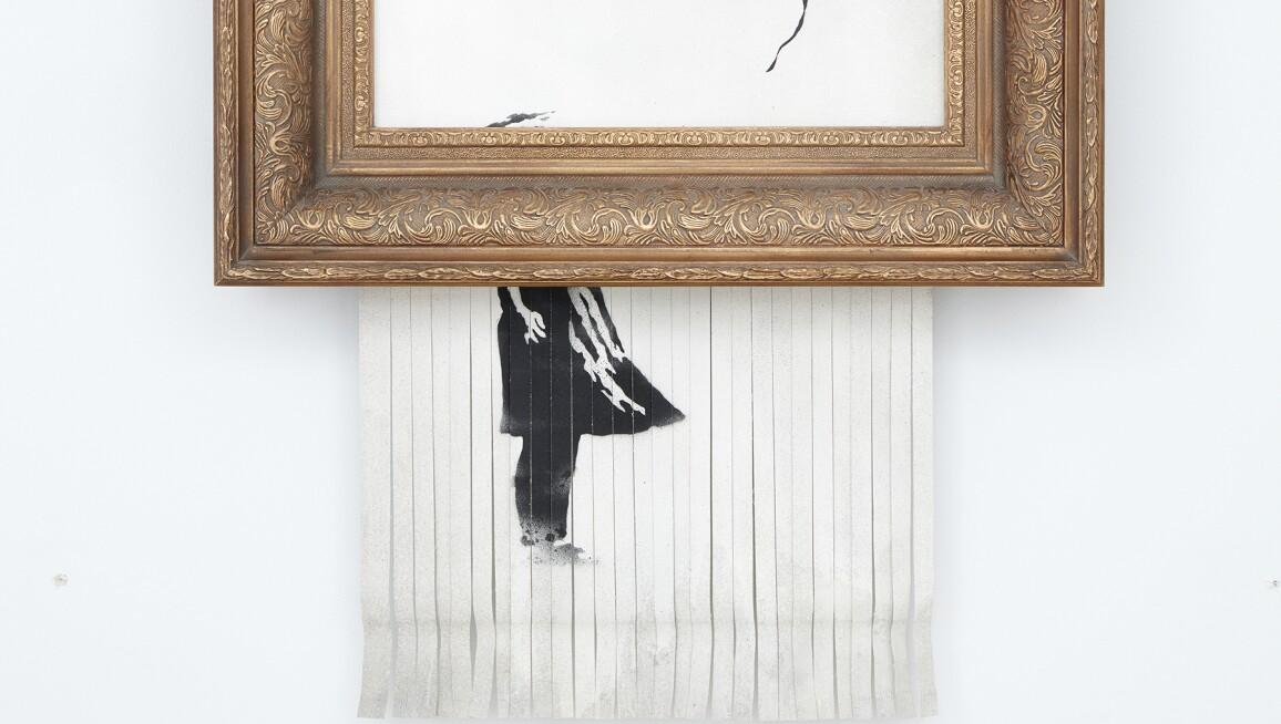 Banksy, Love is in the Bin, 2018