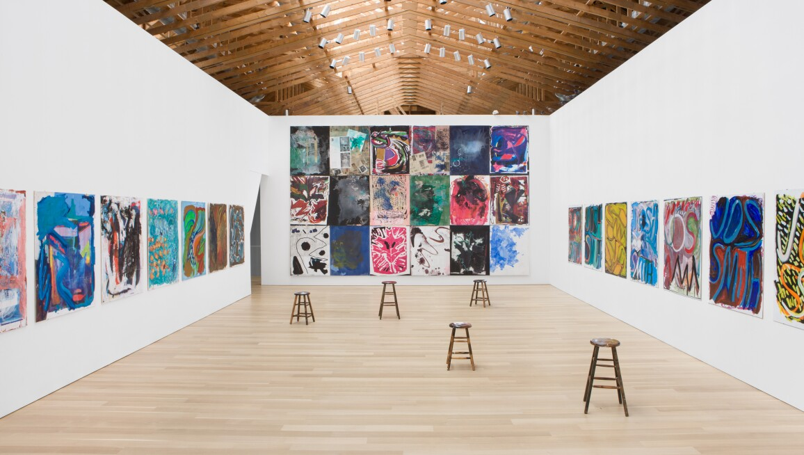 Interior view, The Brant Foundation Art Study Center
