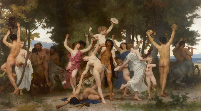 William Bouguereau, La Jeunesse de Bacchus