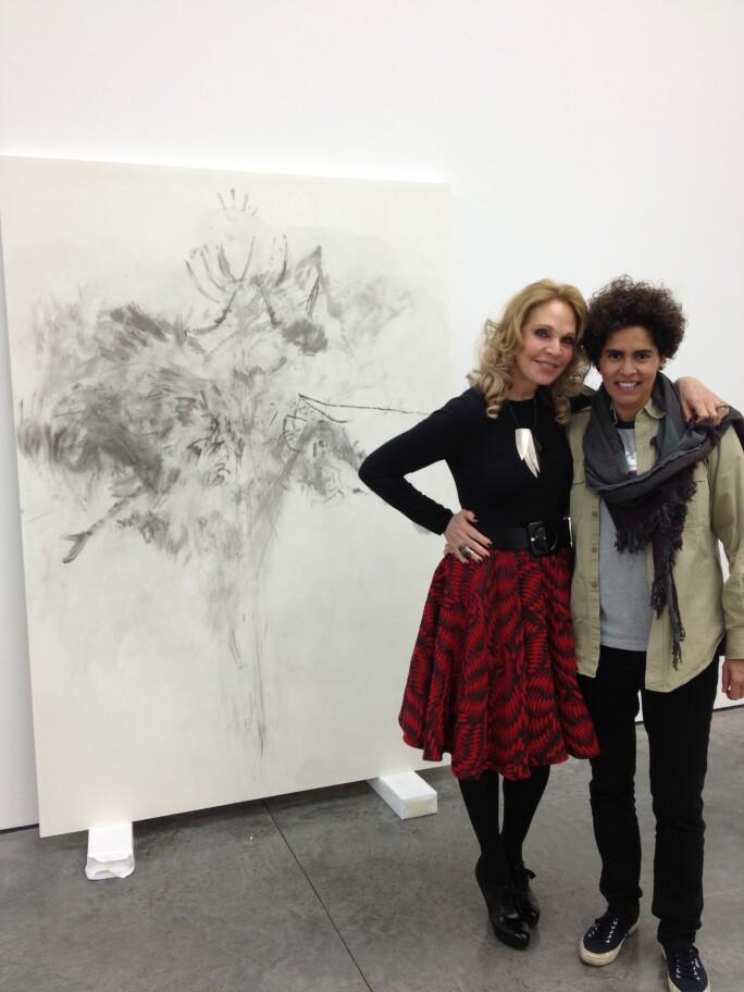Tiqui Atencio and Julie Mehretu
