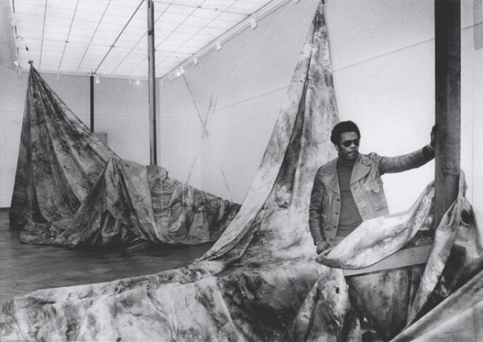 Sam Gilliam; Autumn Surf; 1973