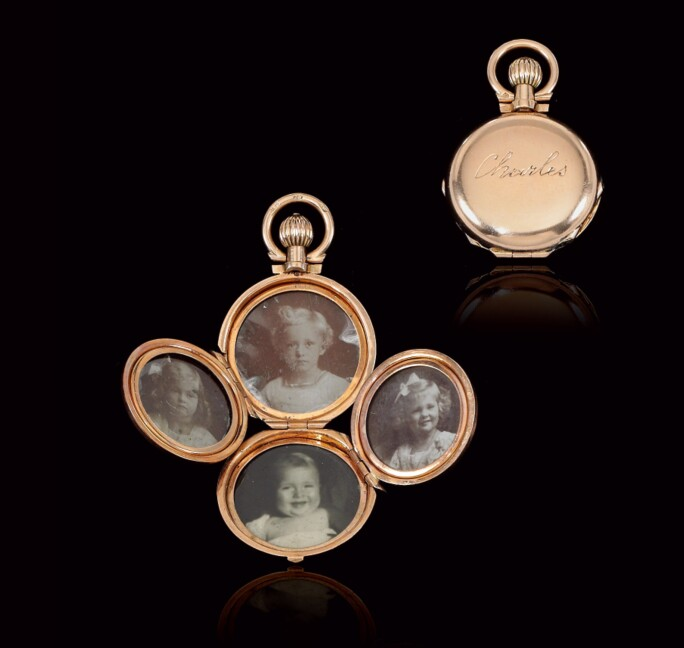 Gold Locket, Mermod Frères, late 19th century. LOT SOLD. CHF 26,250