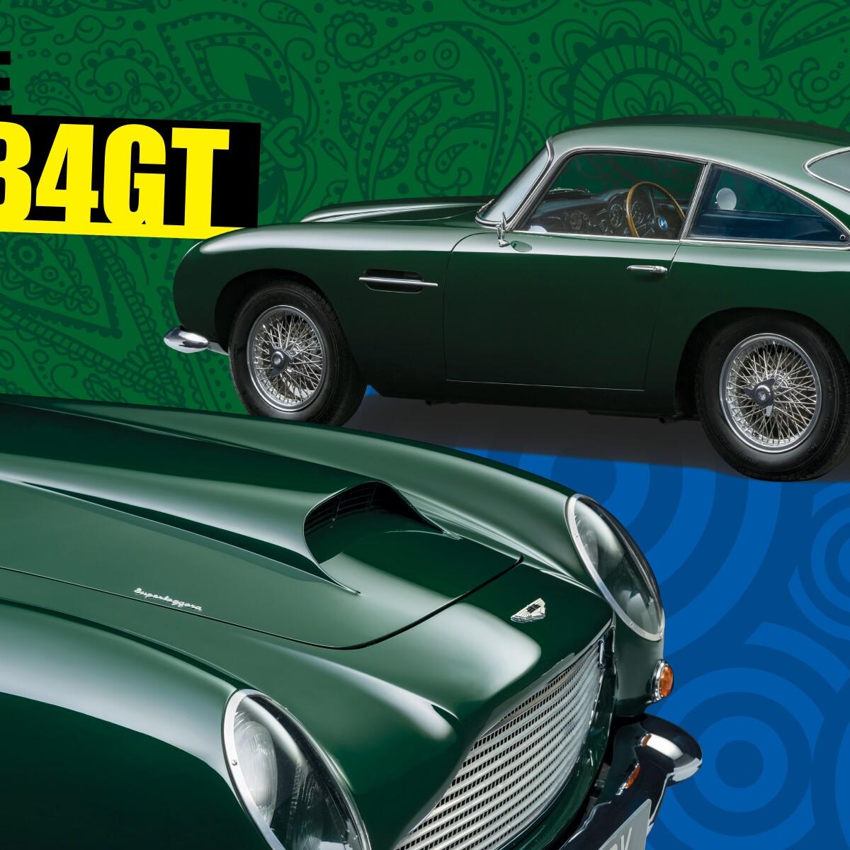 A Film Star Car: Peter Sellers's Aston Martin DB4GT