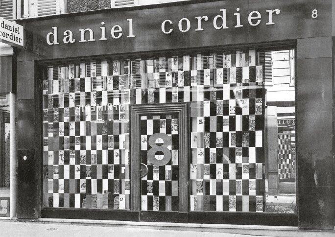 Daniel Cordier's Art Gallery on rue de Duras, Paris