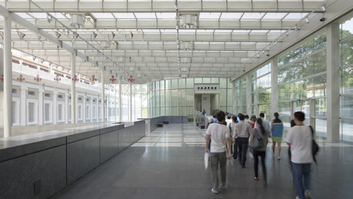 Interior View, National Museum of Singapore