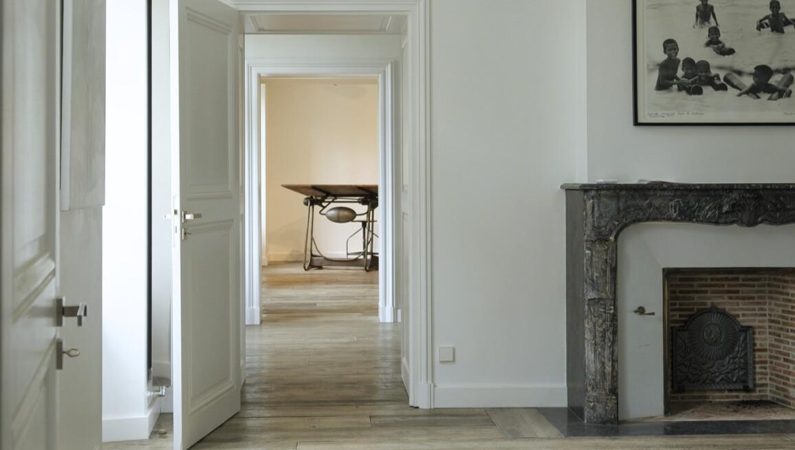 Interior view, Fondation Francès