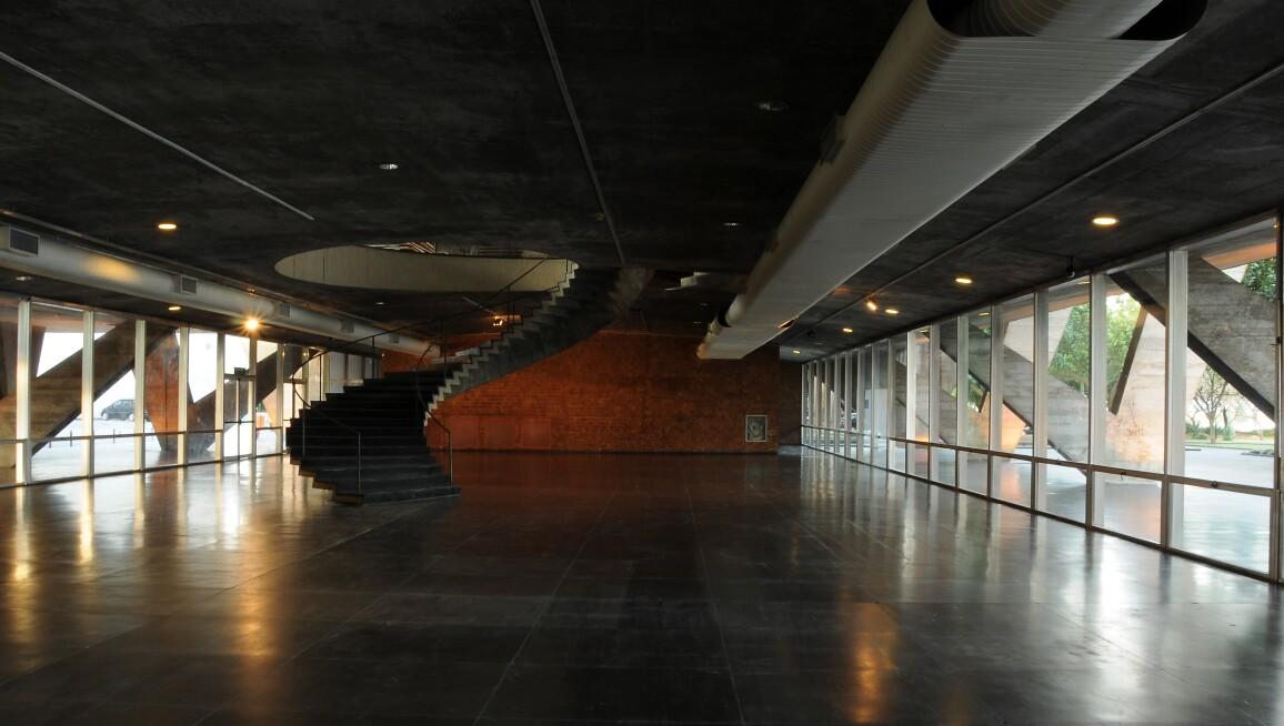 Interior View, Museu de Arte Moderna do Rio de Janeiro