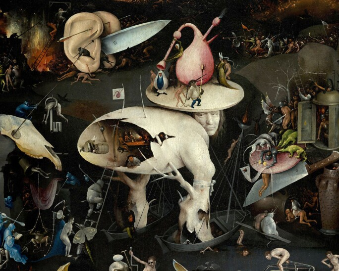 Hieronymus Bosch S The Garden Of Earthly Delights A Journey From