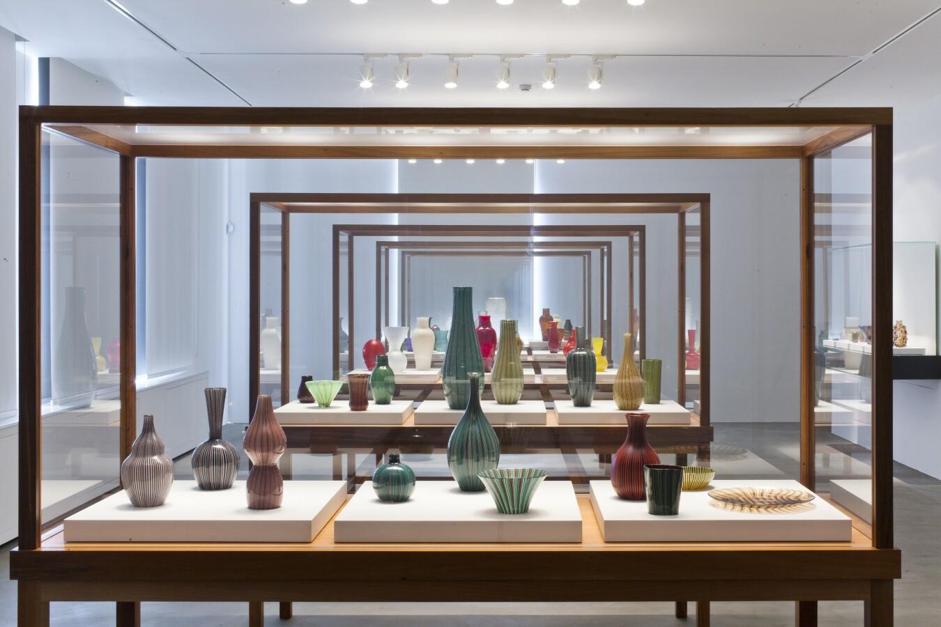 Rigati and Tessuti, installation view