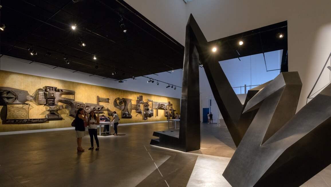 Interior view, Museo Universitario Arte Contemporáneo, MUAC/UNAM