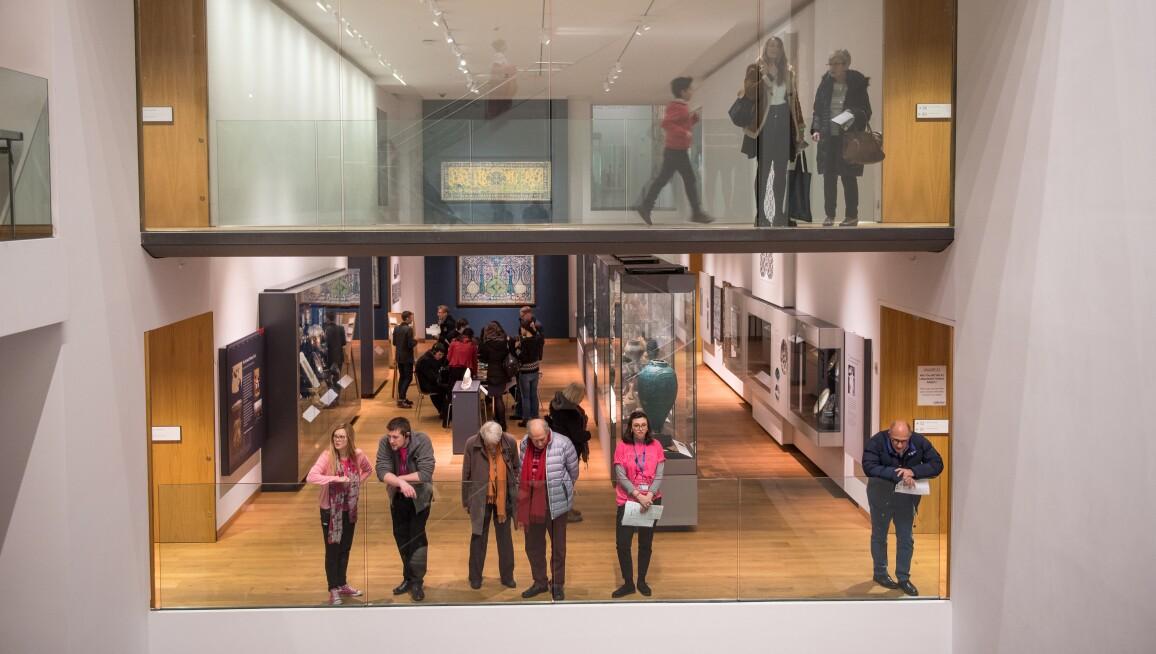 Interior View, Ashmolean Museum