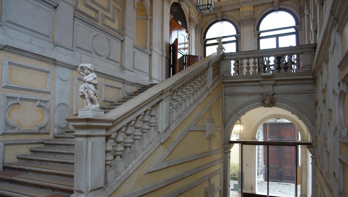 Interior View, Ca' Rezzonico