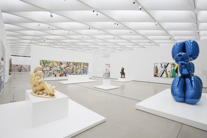 The Broad museum gallery